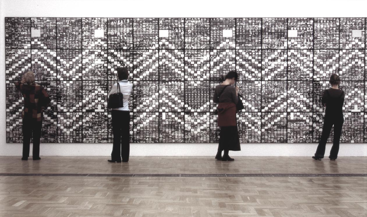 widok wystawy, Zachęta, 2004