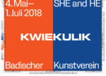 KwieKulik: SHE and HE wBadischer Kunstverein